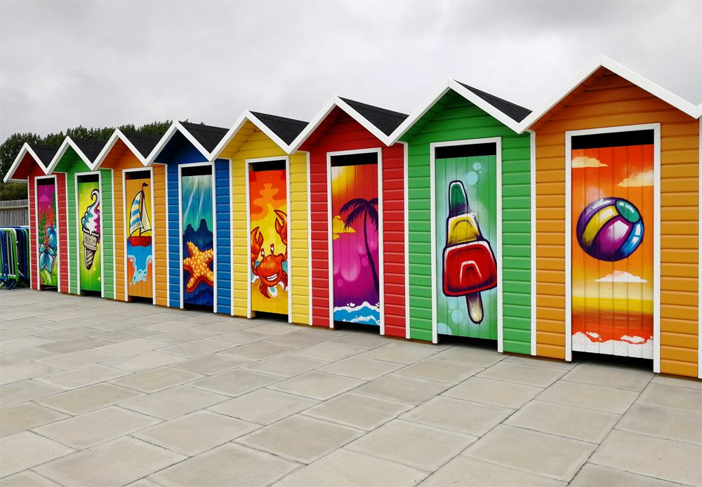 Liquid Leisure beach huts
