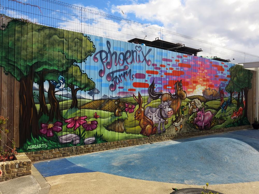 Phoenix primary school mural