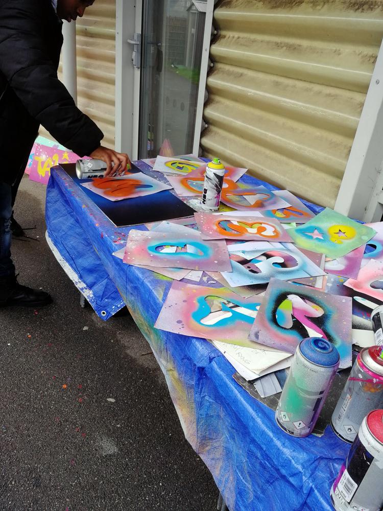 graffiti workshops summer 2019